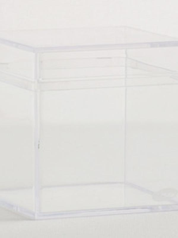 Plexi kubus Helder 6x6x6cm