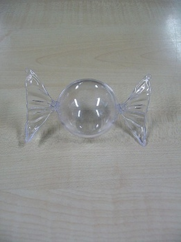 Plexi Snoep Rond 4,5cm
