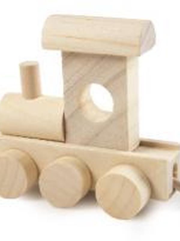 Trein Letter Locomotief