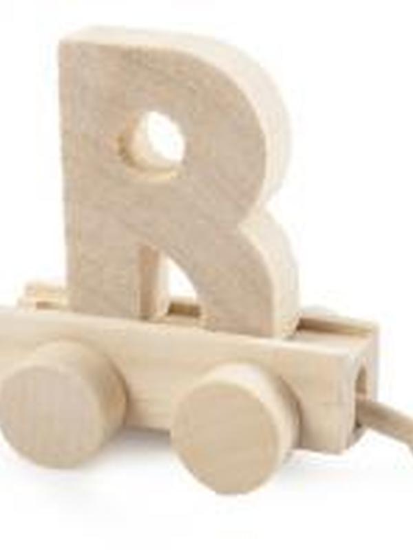 Treinletter Hout R