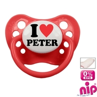 Fopspeentje I Love Peter
