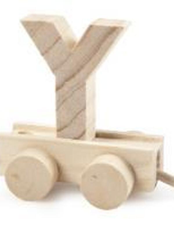 Treinletter Hout Y