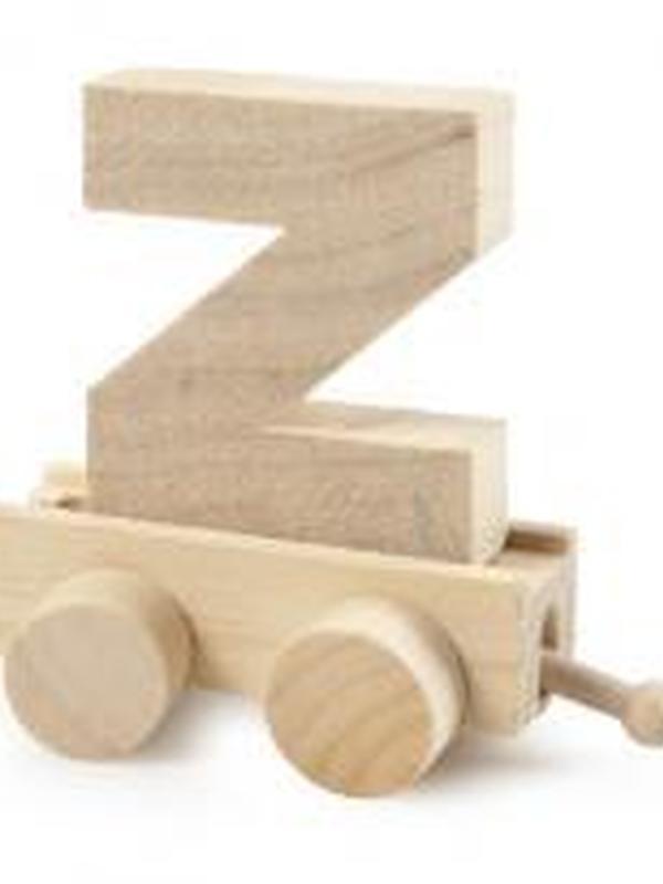 Treinletter Hout Z
