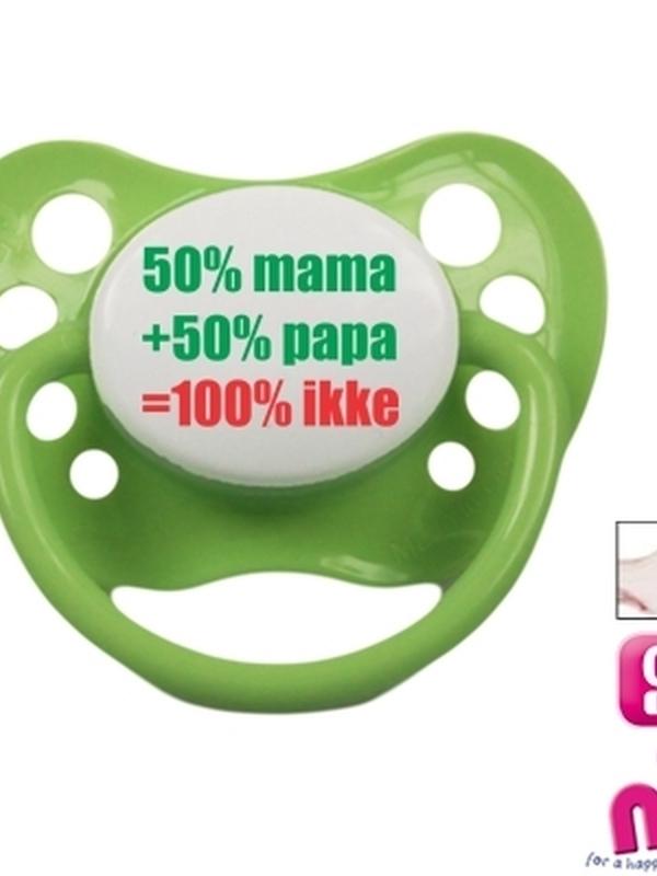 Fopspeentje 50%mama 50%papa100%ikke