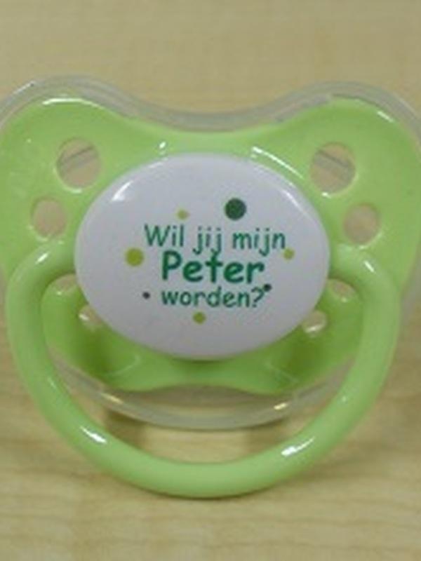 Fopspeentje Wil jij mijn Peter worden ?