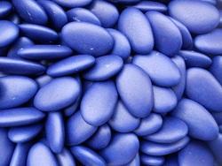 Chocolade Bonen Marineblauw