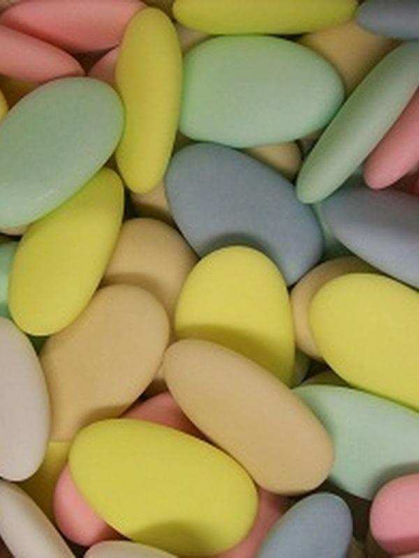 Chocolade Bonen Assorti 6 Pastel Kleuren