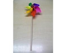 Windmolen Diameter 11cm stok 24cm