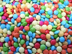 Chocolade Mini Smarties Flashy Assortie