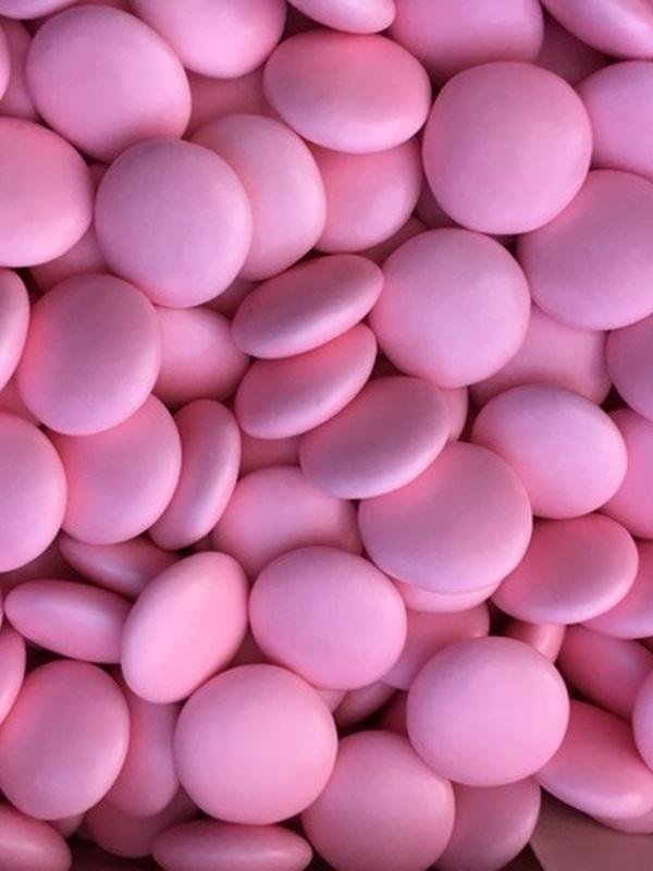 Chocolade Smarties Licht Roos