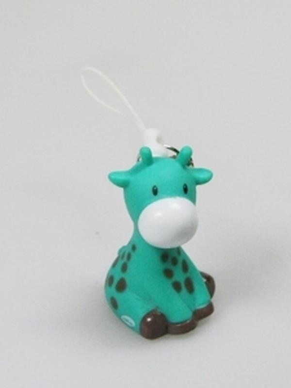 Giraf Groen Mini Sleutelhanger