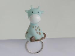 Giraf Licht Blauw Decoclip