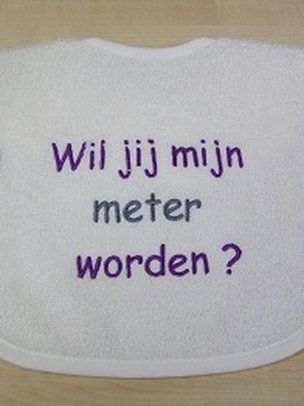 Slabbetje Meter Zijn ?