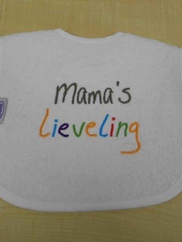 Slabbetje Mama lieveling