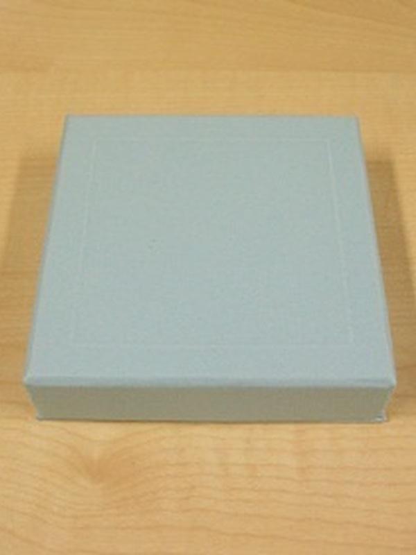 Sweet Vierkant Licht Blauw Doosje 8 x 8 x 2 cm