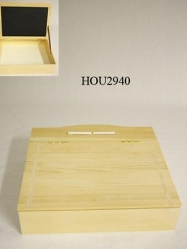 Lessenaar Hout H 11 x L 40 x B 38