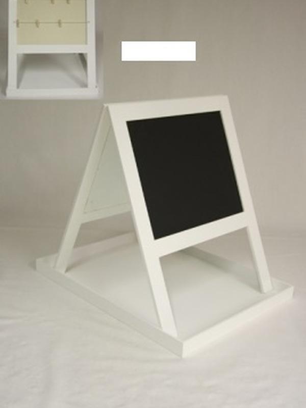Plateau Wit + schoolbord