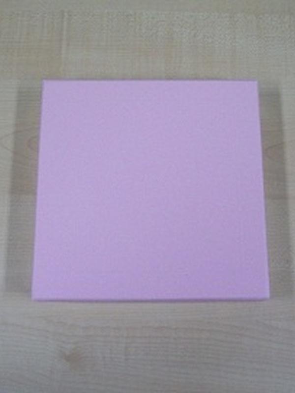 Sweet vierkant Roos Doosje 17 x 17 x 3,5 cm