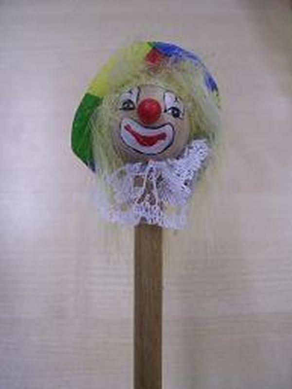 Potlood Clown Ruiten Hoedje