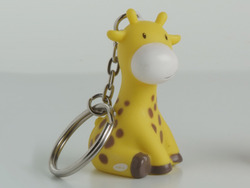 Giraf Mosterd Sleutelhanger