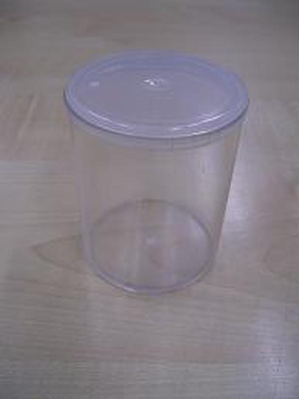 plexi cilinder potje met deksel