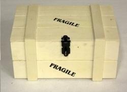 Fragile kist groot