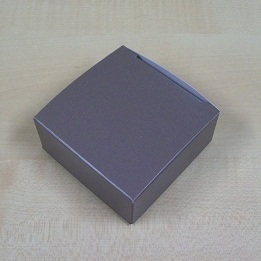 Karton Laag Vierkant Doosje 7,4 x 7,4 x H 3 cm