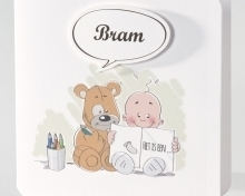 Boek Pirouette geboortekaartjes