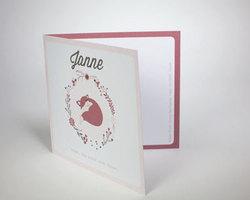 geboortekaartje Boek BB